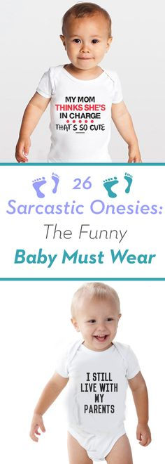 Funny Baby Pictures, Funny Baby Quotes, Baby Sayings, Girl Quotes, Funny Babies, Funny Kids, Cute Babies, Boy Onesie, Onesies