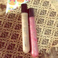 @11addie's Lip Bundle Two volumizing glosses & freebie Hard Candy Makeup