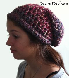 Slouchy Hat – Crochet The teen requested a slouchy hat. I have yet to crochet something for my teen. I've... Continue reading »The post The Teens Crochet Slouchy Hat appeared first on DearestDebi.