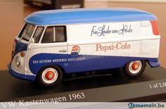 minichamps 430052205 / 1:43 / volkswagen t1 pepsi-cola 1963