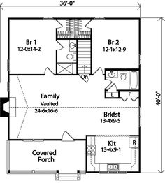 Country House Plan First Floor - 058D-0176 | House Plans and More