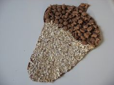 acorn craft with oats