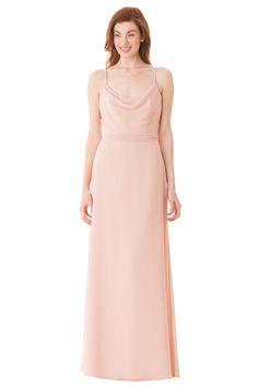 Bari Jay Bridesmaids 1667  Sample: Blush, size 10  $$$