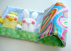 Bundle Pack - Spring & Bird Finger Puppets & Carrying Case