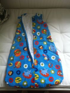 Quilted Dr. Seuss sleep sack, made by me