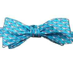 Shark week - it's happening! Lazyjackpress.com #BowTies #menswear #style #fashion #preppy #cheers #dapper