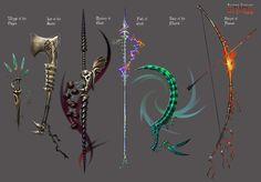 Anima: Bone weapons by Wen-M on deviantART