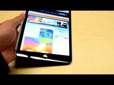 iPad mini hands on Video Mini Hands, New Ipad, Facetime, Apple Ipad, A5, Ipad Mini, Wedge Sandals, Digital Camera, Friday