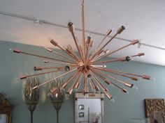1stdibs | Downtown Classics Collection Sputnik Chandelier in Copper