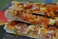 Una deliciosa receta de Pizza para #Mycook http://www.mycook.es/receta/pizza/