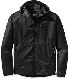 Outdoor Research Women's Helium Hybrid Hooded Jacket Black XL