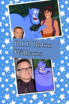 Robin Williams-Genie