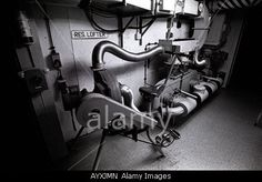 GERMANY STASSI BUNKER SECRET DDR COLD WAR DIVIDE WALL Stock Photo