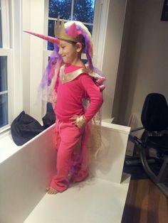 My daughter is the prettiest pony princess #cadence #thinkgeekoween #brony
