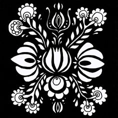 Sova Hůová Black Folklore