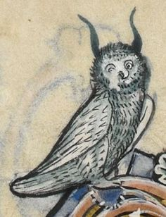 """Detail from """"The Rutland Psalter"""", medieval (c1260), British Library Add MS 62925. f 63r"""