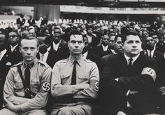 George_Lincoln_Rockwell_nation_of_islam.jpg (1600×1118) American Nazi Party 1961