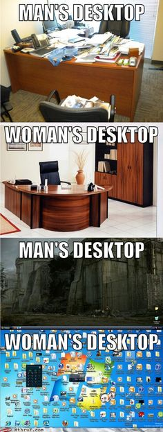 Some differences between men and women