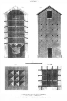 Example of Granary The New Cyclopaedia [Revd. Abraham Rees 1802-1820]