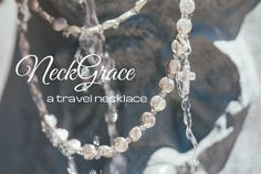 NeckGrace, a travel necklace, sterling silver jewelry to be worn everywhere you go Everywhere You Go, Sterling Silver Jewelry, Travel, Viajes, Destinations, Traveling, Trips, Tourism