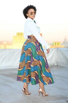 Be motivated with Ankara outfits that make you that African plus-size fashionist. These are what you need to wear to work when Ankara is your favourite African Attire, African Wear, African Women, African Dresses Plus Size, African Fashion Dresses, Meeting Outfit, Ankara Skirt, Modest Wear, Model Outfits