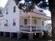 House with cedar