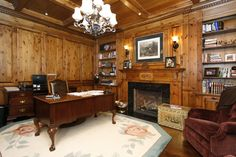 Traditional Panelled Office - Oakville, Ontario