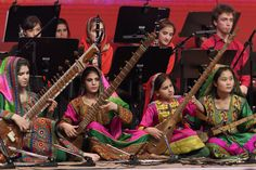Afghan female orchestra strikes closing note at Davos