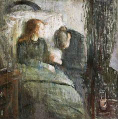 The-Sick-Child-by-Edvard-Munch-1885-86.jpg (989×1000)