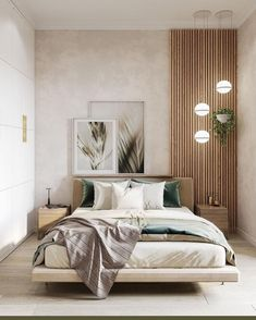 Relaxing Bedroom Color – Home Bedroom Modern Bedroom Design, Home Room Design, Contemporary Bedroom, Modern Apartment Design, Bedroom Wall Designs, Modern Master Bedroom, Modern Bedrooms, Interior Design Of Bedroom, Design Kitchen