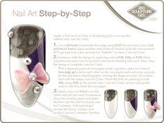 Bubbles step-by-step. Bio Sculpture Nails, 3d Nails, Painting Edges, Nail Art Galleries, Mani Pedi, Nail Tech, Natural Nails, Evo, Art Tutorials