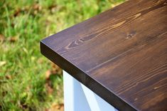 Country Rustic X Entertainment Console Table by PennRustics