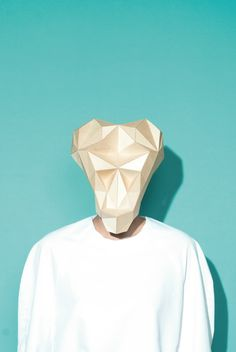 """""""Raster"""" by Appeldorn. Thin plywood masks inspired by cultures of African tribes. Cardboard Mask, Cardboard Design, Stay Weird, African Tribes, 3d Design, Textures Patterns, Creative Inspiration, Typography Design, Fiber Art"""
