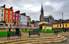 Cobh Ireland road trip- Cork www.therestlessworker.com/ultimate-ireland-road-trip/