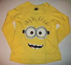 Despicable Me Yellow Long Sleeve shirt