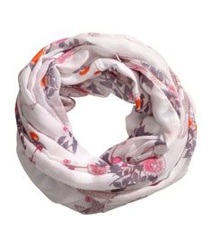 H&M+Tube+Scarf+in+Woven+Fabric+$9.95