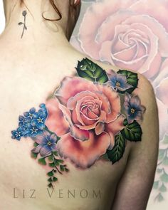 Pin by mira perko on cool tattoos тату, розы. Realistic Flower Tattoo, Flower Tattoo Drawings, Flower Tattoo Designs, Mom Tattoos, Body Art Tattoos, Tattoos For Guys, Sailor Tattoos, Arabic Tattoos, Sleeve Tattoos