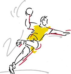 Handball was one of my first sports experiences ever!