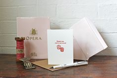 Image of Thank you, youre too sweet! greeting card