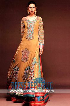 akistani Designer Bridal Lehenga 2014  Occasion wear by Pakistani Fashion Designer by www.dressrepublic.com