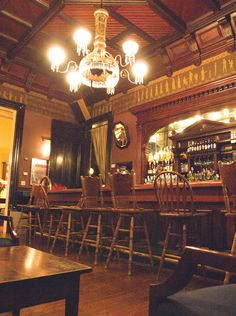 The Columns Hotel Bar, St. Charles - Lived down the street, LOVE THE COLUMNS - Great food, great everything.  Beautiful winding staircase, beauty @ every turn, TRUE ELEGANCE!!! @Lori Cline Doherty