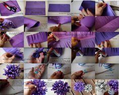 Fiori di carta: tante idee fai da te  http://tempolibero.pourfemme.it/articolo/fiori-di-carta-tante-idee-fai-da-te-foto/14421/