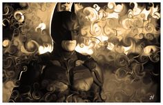 Limited Edition Print  The Dark Knight by joevetoe on Etsy, $19.99