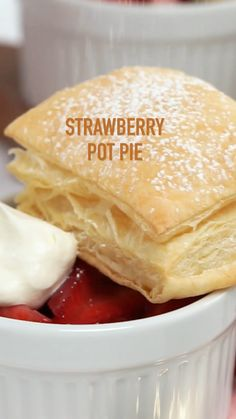 Fun Baking Recipes, Dessert Recipes, Cooking Recipes, Pie Dessert, Dessert Recipe Video, Mexican Food Recipes, Sweet Recipes, Delicious Desserts, Yummy Food
