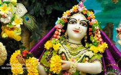 To view Radha Close Up Wallpaper of ISKCON Chowpatty in difference sizes visit - http://harekrishnawallpapers.com/srimati-radharani-close-up-wallpaper-066/