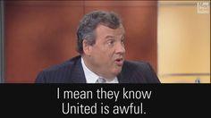 Governor Chris Christie is slamming United and calling on President Donald J. Trump's administration to act after the airline forced the removal of a passenger earlier this week.  http://fxn.ws/2o6ae2O