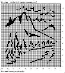 Free Bear Silhouette Crochet Chart Follow This Graph To