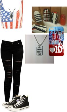 """Meeting One Direction Outfit #1"" by beccabunneh on Polyvore"