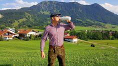 Wenn der Chef mal eine Pause braucht, dann trinkt er Buttermilch #buttermilch #milch #allgäu #bua #bub #walser Pause, Chef, Daniel Wellington, Milk, Summer, Garten