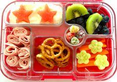 www.bentoland.com.au Yumbox Lunch Kids, Lunch Snacks, Bento Box, Lunch Box, Bento Recipes, School Lunches, Waffles, Breakfast, Healthy